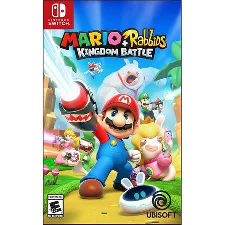 Nintendo Switch 玛利欧+疯狂兔子 王国之战 中文版