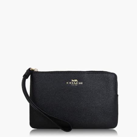 COACH 攜帶便利 皮革 / 零錢收納 / 手拿包(小款)_黑色