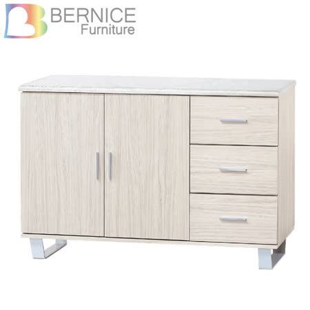 Bernice-贝尼4尺收纳餐柜/碗盘柜