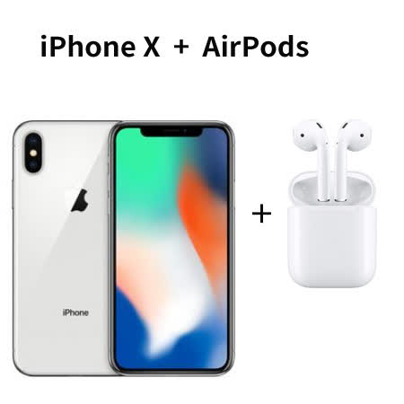 Apple iPhoneX 256GB 送原廠AirPods無線藍牙耳機