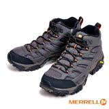 MERRELL MOAB 2 MID GORE-TEX@ 防水黃金大底戶外多功能鞋 高筒男鞋-灰  ML06059