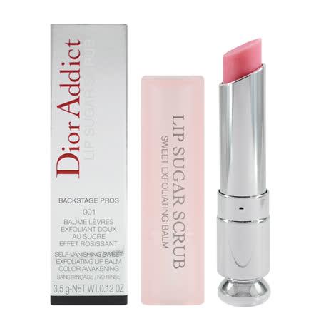 Dior 迪奧 蜜糖磨砂潤唇膏 3.5g #001 Addict Lip Sugar Scrub