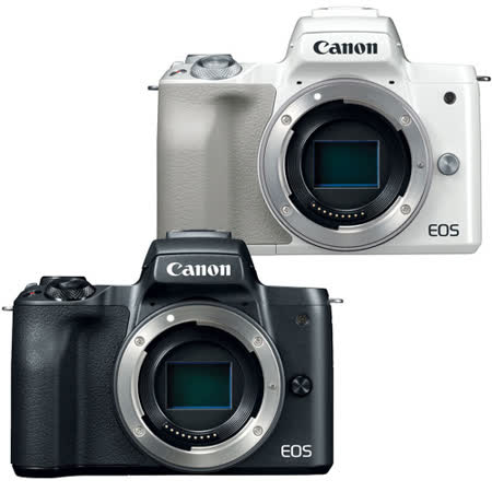 CANON EOS M50 BODY (公司貨) 贈送64G卡+相機包+吹球+拭鏡布+拭鏡筆+清潔組+保護貼