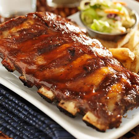 【食肉鲜生】BBQ特级烧烤猪肋排 6件组(230g/件)
