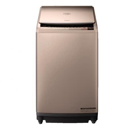 HITACHI日立 10公斤溫水噴霧飛瀑躍動式洗衣機 SFBWD10W