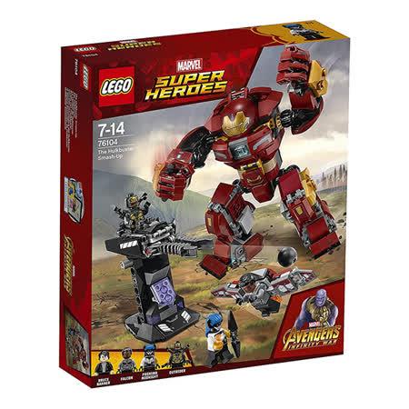【LEGO樂高】超級英雄系列 76104 漫威 復仇者聯盟3 浩克毀滅者機甲