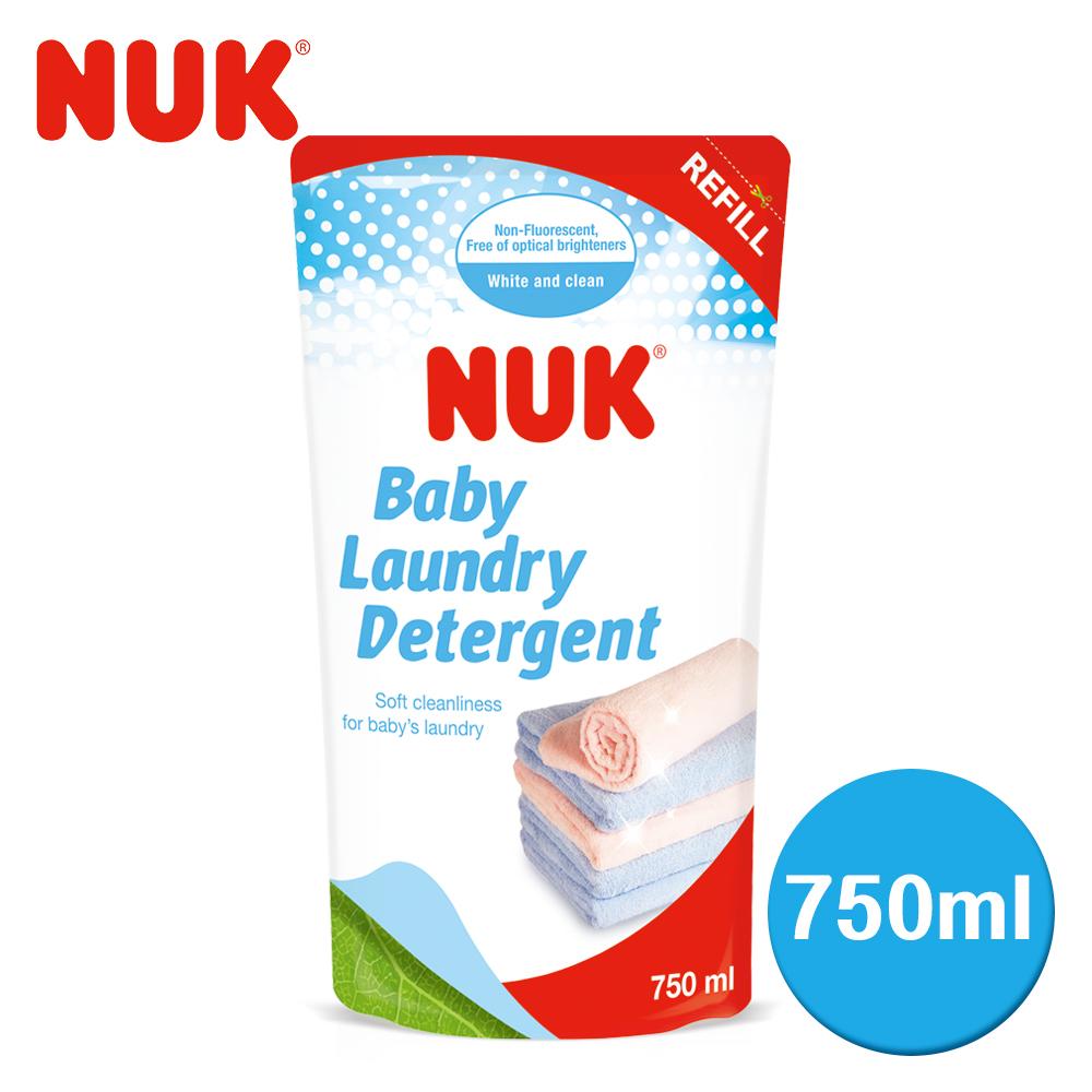 德國NUK~嬰兒洗衣精補充包750ml