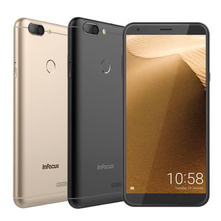 InFocus M7s全螢幕5.7吋大電量手機◆贈InFocus筆記本