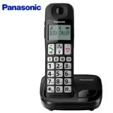 Panasonic國際牌 數位無線電話機 KX-TGE110(公司貨)黑色