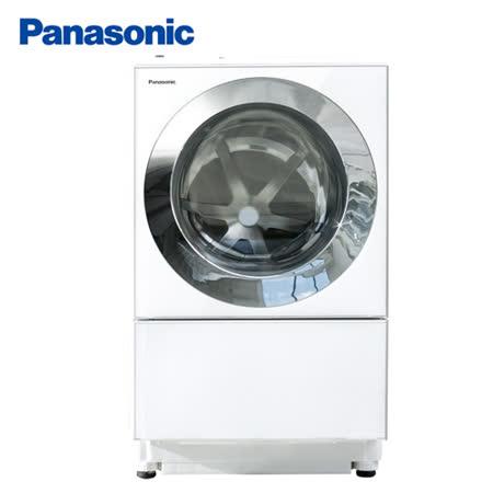 Panasonic國際牌 10.5kg日製變頻洗脫烘滾筒洗衣機 NA-D106X1WTW