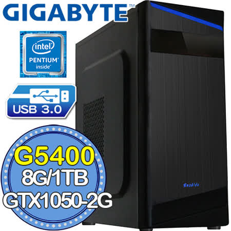 技嘉B360平台【雾影术士】G系列双核 GTX1050-2G独显 1TB效能电脑