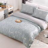 《HOYACASA簡單愛》雙人四件式天絲兩用被床包組