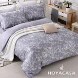 《HOYACASA花研》雙人四件式天絲兩用被床包組