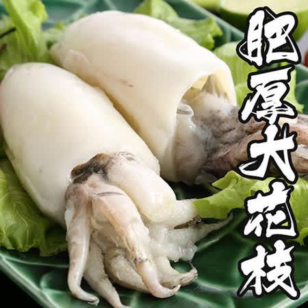 【海鲜王】特级肥厚大花枝 *4件组(500g/2只装)