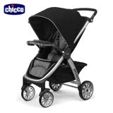 chicco-Bravo極致完美手推車Air版-星塵黑**贈送攜帶式輕巧餐椅座墊