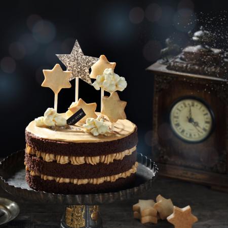 【糖村SUGAR & SPICE】【限量】星空克卜勒  星空焦糖巧克力蛋糕 6吋
