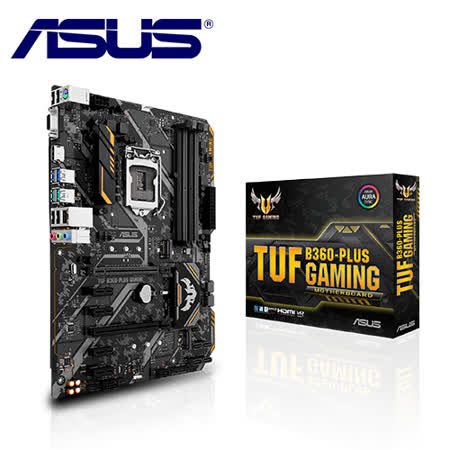 ASUS 華碩 TUF B360-PLUS GAMING 主機板