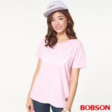 BOBSON女款印圖寬版上衣(26098-10)