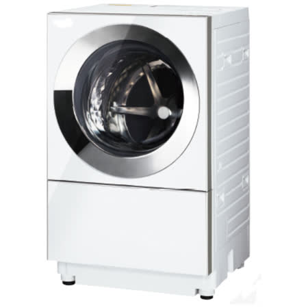 Panasoni國際牌 日本製10.5公斤變頻滾筒洗衣機 NA-D106X1WTW