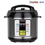 【日本imarflex伊瑪】微電腦 6L壓力快鍋 萬用鍋(IEC-610)贈冰泉瓷金七層平底鍋 DR-28- SGS認證