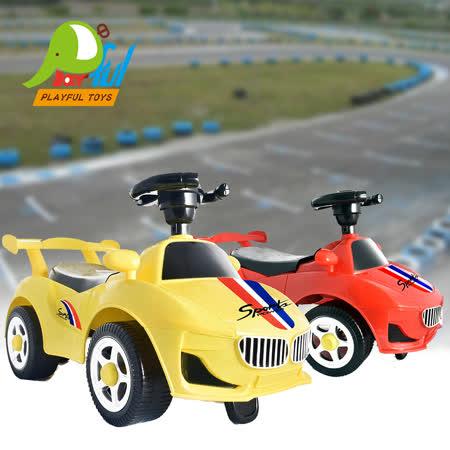 【Playful Toys 頑玩具】滑步車 (兒童騎乘滑步車 幼兒學步車 造型學步車 學步車 兒童玩具 騎乘玩具 滑步車 頑玩具)