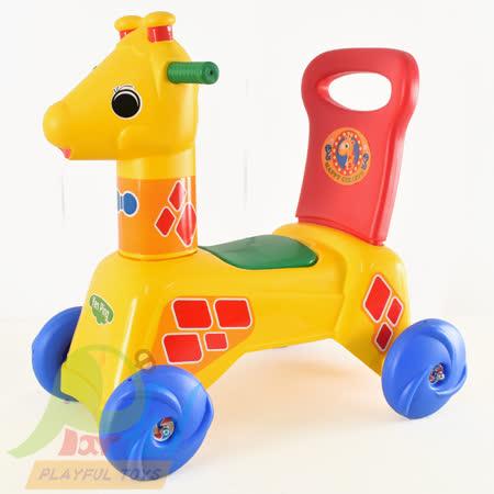 【Playful Toys 頑玩具】台灣製造花鹿造型滑步車(台灣製造花鹿造型滑步車 造型滑步車 花鹿車 學步車 滑步車 騎乘玩具 台灣製造 幼兒學步車)