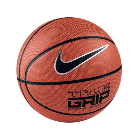 NIKE GRIP 水泥悍將 室外專用籃球 標準7號球 皮質好打 耐磨性優 手感佳 橘色銀勾(0638)