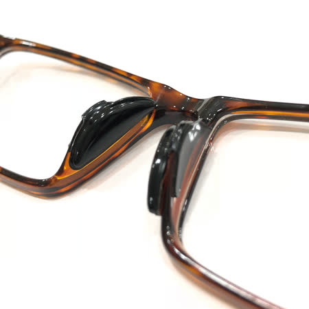【KEL MODE】眼鏡配件-矽膠黑色防滑鼻墊貼-2副(#M/L尺寸)