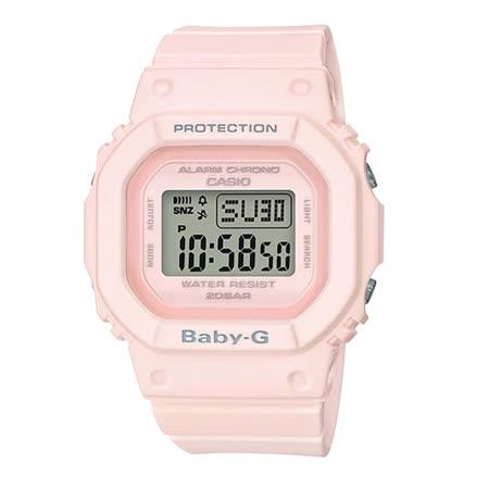 CASIO BABY-G BGD-560系列街頭時尚運動風格腕錶-粉(BGD-560-4D)