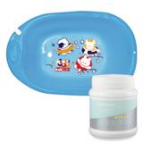 培寶bab嬰兒浴盆/大+媽咪小站-Mammy Shop 多功能活氧去漬粉 450g