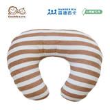 日本 Sandexica森德西卡 多功能珍珠棉哺乳枕 U型枕/三合一靠枕 -卡其條紋【FA0003】