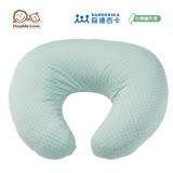 日本 Sandexica森德西卡 多功能珍珠棉哺乳枕 U型枕/三合一靠枕 -粉藍點點【FA0003】