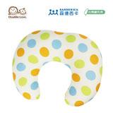 日本 Sandexica森德西卡 多功能珍珠棉哺乳枕 U型枕/三合一靠枕 -黃綠圓點【FA0003】