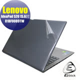 EZstick  Lenovo IdeaPad 520 15 81BF0089TW   系列專用 二代透氣機身保護貼 (含上蓋貼、鍵盤週圍貼、底部貼) DIY包膜