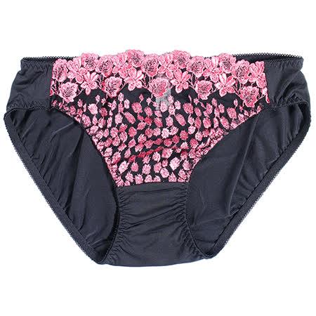 【Lofan 露蒂芬】星粉豹 美臀刺繡小褲(SE1763-BKP)