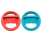 任天堂 Nintendo Switch 方向盤 (二入) 紅色+藍色