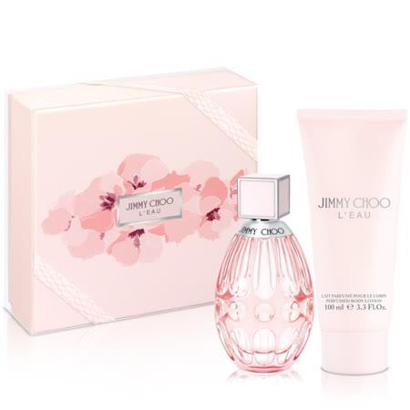Jimmy Choo 恋曲女性淡香水礼盒(淡香水60ml+身体乳100ml)