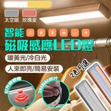 【新一代】智慧磁吸LED居家生活感應燈/衣櫥燈