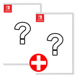 Nintendo Switch 任天堂遊戲片1+1(一般組)