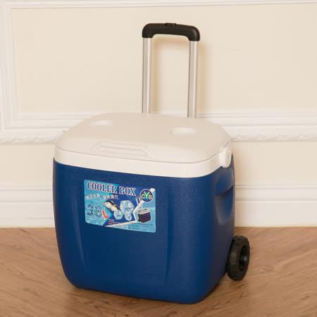 百货通 拉杆式冰桶-36L
