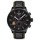 【TISSOT 天梭】CHRONO XL NBA 湖人隊特別版計時錶-45mm(T1166173605103)