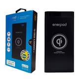 【綠蔭-免運】【enerpad】Qi無線充電行動電源 (Q-10K)