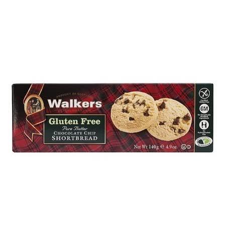 WALKERS蘇格蘭皇家無麩質奶油巧克力餅乾 140G