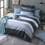 GOLDEN TIME-墨菲定律-200織紗精梳棉-兩用被床包組(加大)