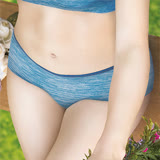 【EASY SHOP】ㄅㄤ挺 中腰平口褲(天空藍)