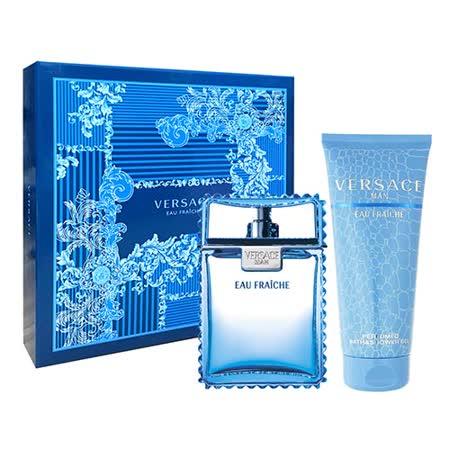 Versace凡赛斯 云淡风轻男性淡香水礼盒二件组 (香水100ml+洗发沐浴精150ml)
