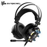 B.FRiEND CH3 RGB 黑色 虛擬7.1 環繞音效 電競耳麥 耳機