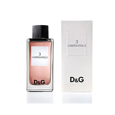 DOLCE & GABBANA 3号皇后女性淡香水 100ml