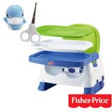 費雪牌 Fisher-Price寶寶小餐椅/FSC71897+酷咕鴨KU.KU. 造型安全剪刀組
