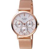 ALBA雅柏俏皮泡泡時尚腕錶  VD75-X118K AP6608X1  玫瑰金